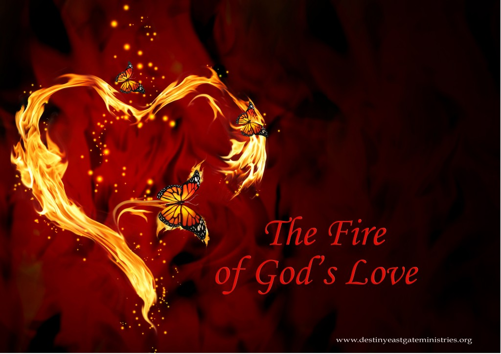 The Fire of His Love